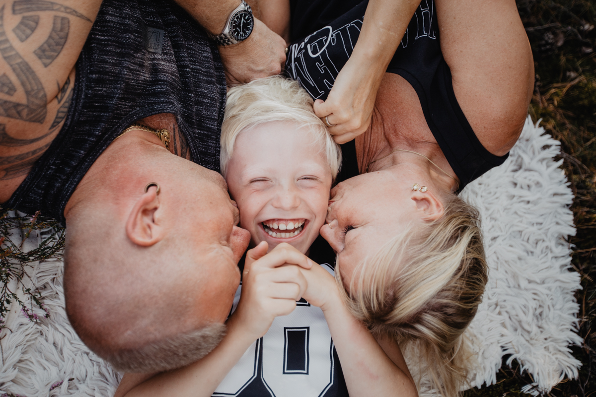 Eine ganz normale Familie | Familienfotograf Lüneburg